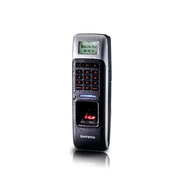 (자가설치-방화문출입통제)BioLiteSolo 바이오라이트솔로 지문인식기 방화문 철문 나무문 사무실 출입문통제시스템 보안장치