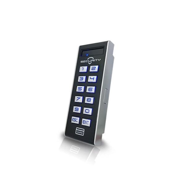 (설치비포함)HU-1000R 카드리더기 번호키 유리문 방화문 자동문 사무실 출입통제장치 출입통제시스템