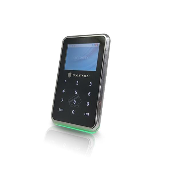 (자가설치-유리문출입통제)COO-5000R 카드인식기 카드출입통제기 강화도어 유리문 사무실 아파트 카드키 출입통제시스템 출입보안시스템설치