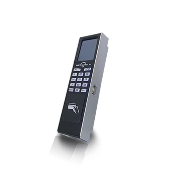 (자가설치-유리문출입통제)HU-2000R 카드키 카드인식기 출입통제기 강화도어 사무실 아파트 출입통제시스템 출입보안시스템설치