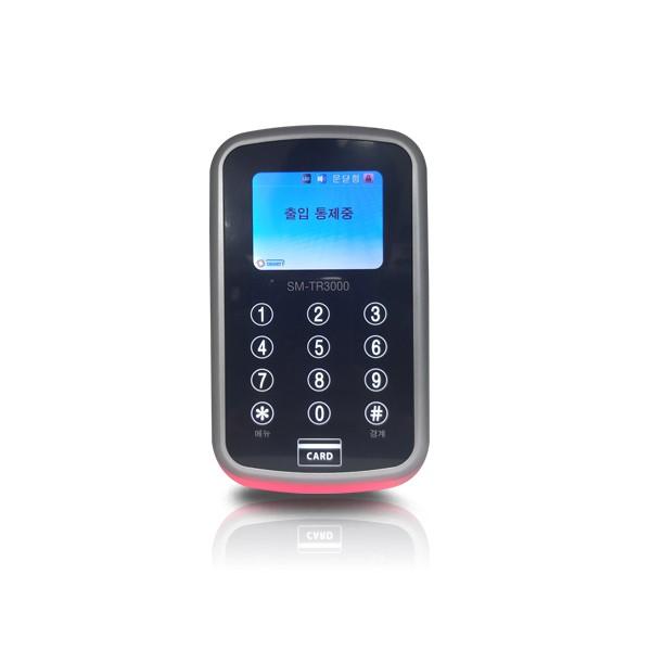 (설치비포함-유리문출입통제)SM-TR3000 사원증인증 강화도어 카드키 카드출입시스템 사무실 출입통제시스템