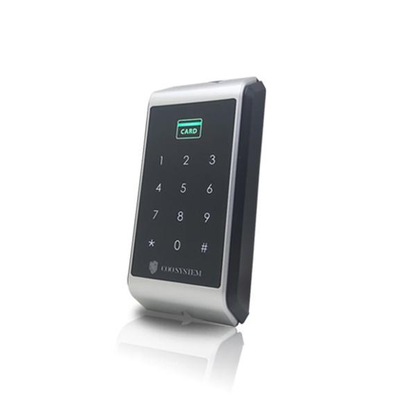 (자가설치상품)COO-4000R 카드리더기 번호키 유리문 방화문 자동문 사무실 출입통제장치 보안장치